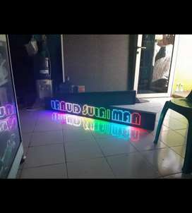 neon box & running text Bandung 152
