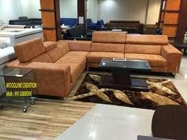 New Lavish Designer Devin Stylist L type Corner Sofa Set WDC-1132