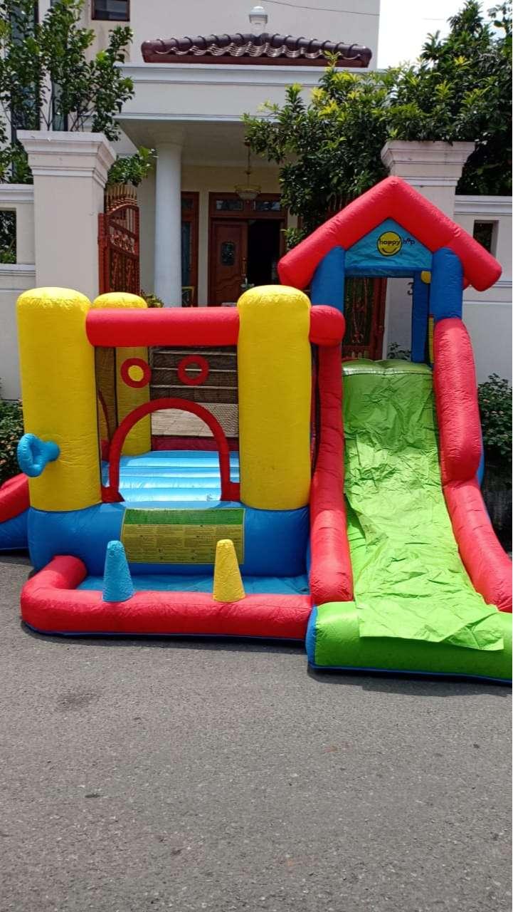 Istana balon loncat / bouncy castle / Happy Hop 7 in 1 Bouncy Preloved 0