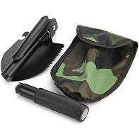 Sekop Cangkul Pacul Gergaji Mini Lipat Portable Shovel Kemah Berkebun