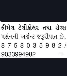 Urgent Required for Telecaller (Male/Female)