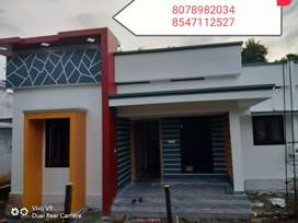 5 Cent plot 800 Sq.Ft 2BHK House For Sale In Ayathil