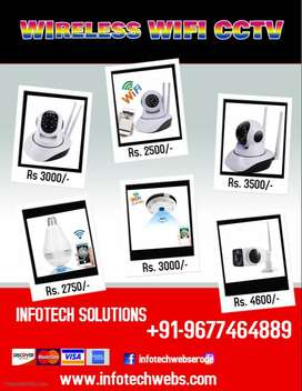 All CCTV Camera and Spy Cameras Wifi /Non Wifi Available - Offer Price
