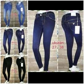 Celana jeans perempuan 27 - 38