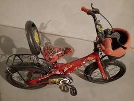 Spider Man kids bicycle