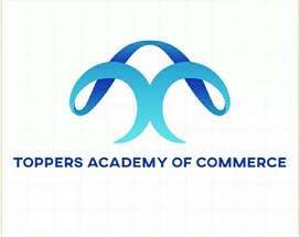 Toppers Academy of Commerce( online classes available).