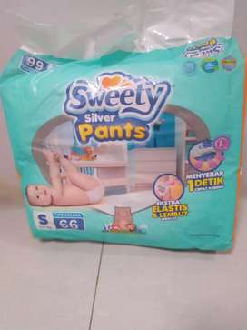 Popok Sweety S 66 baru