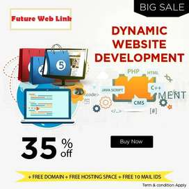 Website Development services in Pakistan starting from 8000