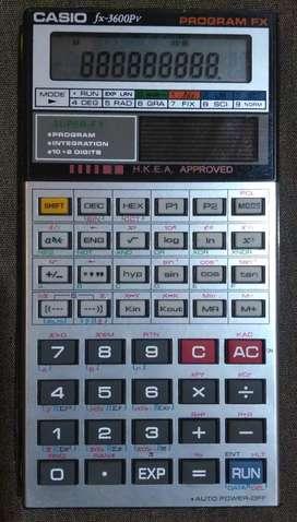 Calculator,Kalkulator Casio FX 3600pv,Normal.
