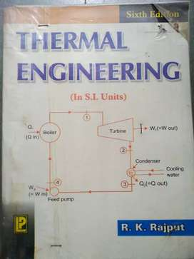Book Thermal Engineering - RK Rajput