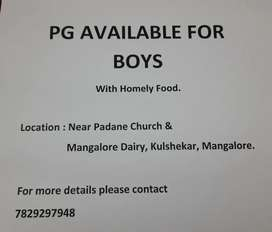 PG available for boys.