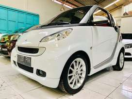 Smart Fortwo White Cabriolet 2011