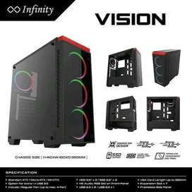 Infinity Vision Casing Gaming Computer PC