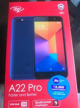 Want to Sale itel. A22