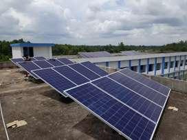 Solar power plant, solar street light ,solar water heater