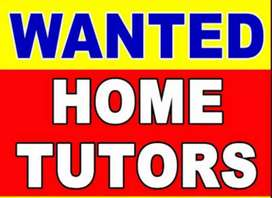 Tuition Teachers Wanted @ Peelamedu