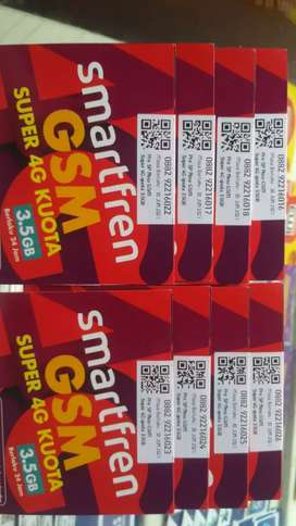 Kartu SMARTFREN 3,5 GB