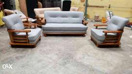 Brand New Wood Sofa For Sale