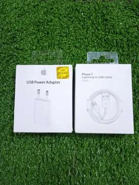 CHARGER IPHONE LIGHTNING ORIGINAL FOR IP 6,7,8,+