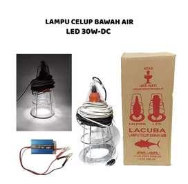 LAMPU CELUP BAWAH AIR LED 30 WATT DC