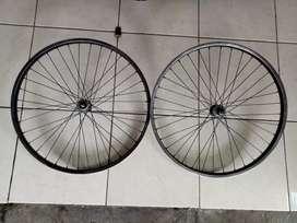 Wheelset besi sepeda federal ukuran 26