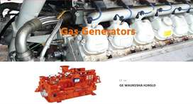 Diesel and Gas Generators ( Used and on Rent)