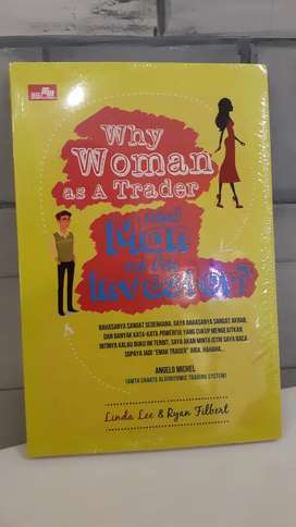 "Dijual buku ""Why Woman as A Trader & Man as an Investor"