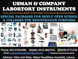 Medical and Science Lab Equipment for School and Colleges Laboratories