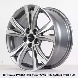 Hsr Kawanua ring 17x75 h5x114 et40gmf