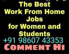 We have a need of 10 male/ 20 female candidates online and offline pro