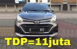 Daihatsu SIGRA X AT (Matic)   Bisa Kredit TDP=11juta