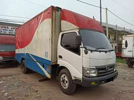 Hino Dutro 130MDL Box Long Double 2014 TT Dumptruck, Hilux, Rino