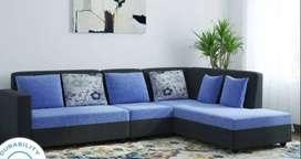 offer price Buy New Sofa set 8550/- L shape sofa 14100/- EMI available