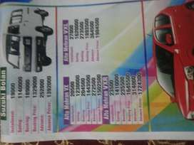 All types of cars we provide on installments