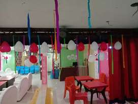 Party hall available