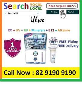 Ulwe18.3 AquaGrand RO Water Purifier Water Filter AC dth bed car TV Aq