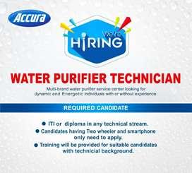 WANTED WATER PURIFIER TECHNICIAN
