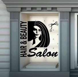 Desain toko anda sebagus mungkin dg sentuhan stiker sanblas&kaca film
