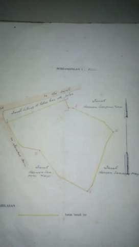 Dijual tanah luas 31956m (3,1Ha). SHM