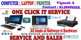 Computer Laptop Printer Service at your Door step