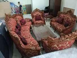 Dijual kredit sofa jati jepara
