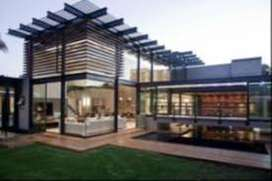 konstruksi taman dan pemasangan atap kanopi , baja ringan & baja berat