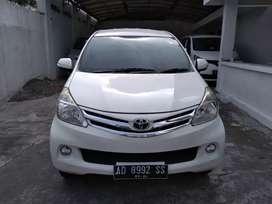 Dijual cepat Avanza 1.5 G th 2013 airbag