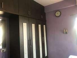 2bhk semifurnised flat