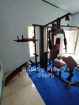 Home gym 3 sisi beban 75kg