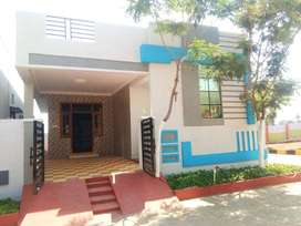Ind house ready to occupy,in bandulaguda, 150 sqyrds, 6km frm ecil.