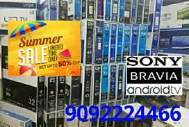 """32"""" INCH NEW SONY BRAVIA SMART ANDROID LED TV 50% SUMMER OFFERED SALES"""