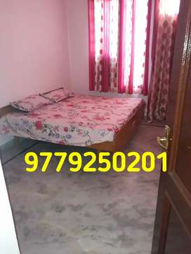 Owner free furnished  room with bath in society flat
