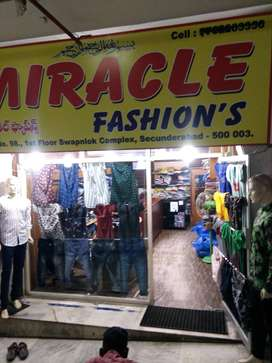 Miracle fashions shop no 98 first floor