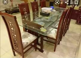 New style dining chair & table set
